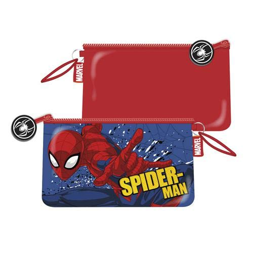 Spiderman Neceser PVC/ply 24x14cm De Spiderman Kosmetiktäschchen 40 Centimeters Mehrfarbig (Multicolor) -