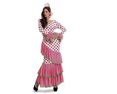 Imagen de my other me  disfraz de flamenca, talla xl, color rojo viving costumes mom01117