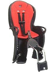 Hamax Kiss - Asiento infantil para bicicleta, color negro / rojo (black / red) - N / a
