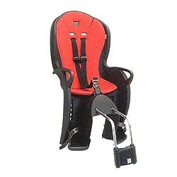 Hamax Kinder Kindersitze Babytrage Federung und Kissen, Schwarz/Rot 75 x 47 x 38 cm
