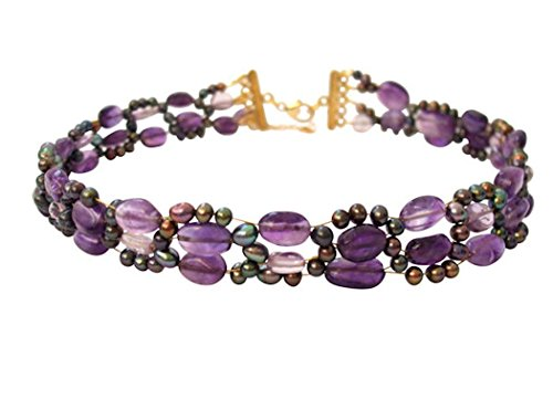 Gemshine-Damen-Halskette-Collier-Amethyst-Perlen-Vergoldet-Violett-Lila