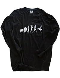 Deluxe Edition Breakdancer II Breakdance BBoy HipHop Evolution Longsleeve Langarm Shirt