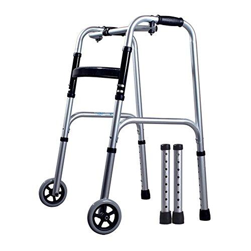 Preisvergleich Produktbild Rollator® Falten leichtes Aluminium Walking Zimmer Rahmen Wanderer Teleskop Falten - höhenverstellbar rutschfest , #12