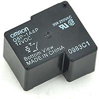 electronics-salon 2pcs Omron g8p-1a4p 12VDC bobina de relé de potencia, 30A 250VAC SPST-NO, 12V.
