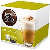 Nescafé - 16 x Dosettes / Capsules de Café Dolce Gusto® - Capuccino