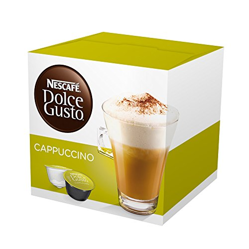 Nescafe Dolce Gusto Cappuccino capsules 16 capsules by Nescafe