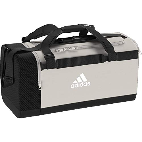 adidas Sports Bag TR CVRT DUF M, raw white/black, One Size, DT4815