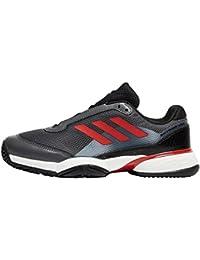 adidas Unisex Kids' Barricade Club Tennis Shoes, Red