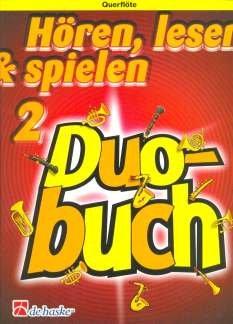 HOEREN LESEN & SPIELEN 2 - DUOBUCH - 2 Querflten