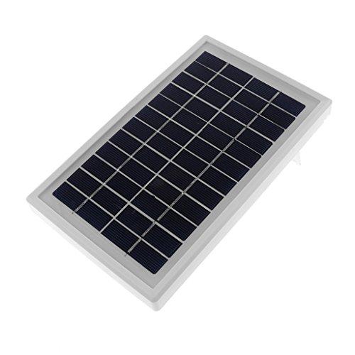 IPOTCH Cargador de Batería Policristalino de Panel de Poder de PV Solar de 12V DC 3W 250MA Portable (precio: 13,64€)