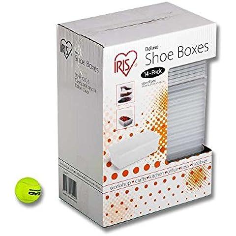 Cajas de Plástico para Zapatos Deluxe - 14 uds