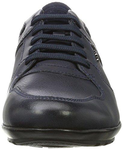 Geox Herren Uomo Symbol A Hohe Sneaker Blau (Navy)