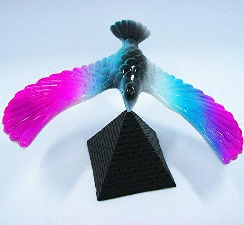 Payonr Kinder Spielzeug Lernspielzeug für Kleinkinder, 1 Stück, balancierender Adler mit Pyramidenständer, rotierender Ständer, Pyramidenform, Zaubervogel, Lernspielzeug -