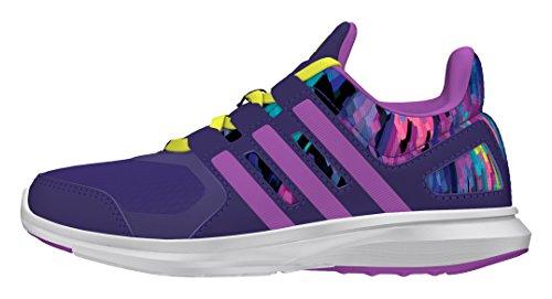 adidas Hyperfast 2.0 K, Baskets garçon Violet