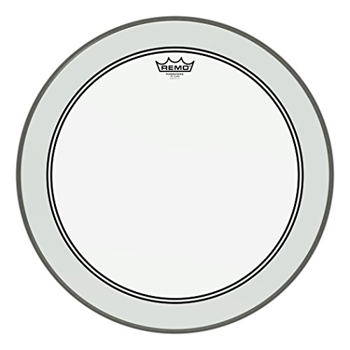 Remo P3-1320-C2 Bass-drum Powerstroke 3 Clear 50,8 cm (20 zoll) (Remo Bass Drum Head 20)
