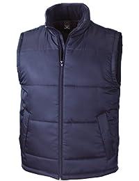 Resultado R208X Core Chaleco Acolchado para Mujer, Liso, Unisex, Color Azul Marino, tamaño Medium
