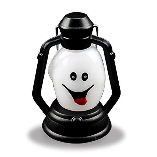 Eizur Halloween Sneaky Geist Lampe Horror Kerosene Lampe Halloween Props Dekor Blitz LED Nacht Licht Gruselige Licht Lampe