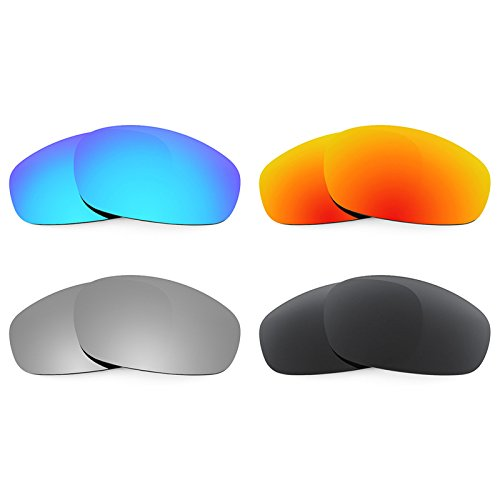 Revant Ersatzlinsen für Oakley Split Jacket Polarisiert 4 Paar Kombipack K018