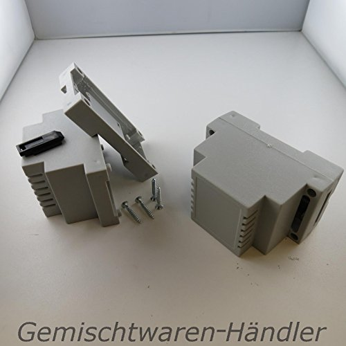Unbekannt Hutschienengehäuse Gehäuse Dinschiene Hut Din Schiene 53mm x 89,4mm x 65,2mm ABS -