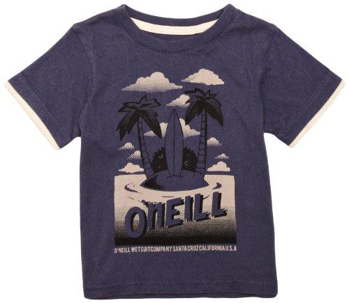 Maglia a maniche corte O'Neill T-Shirt 104 gr. Tucson collo rotondo blu stampa Vintage