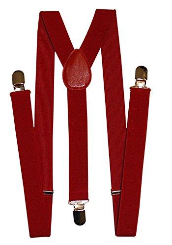 Bekleidung-für-dich - Bretelles - Homme Rouge