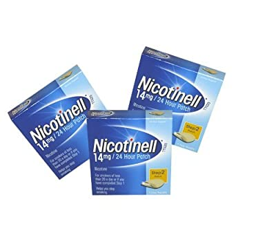Nicotinell Step 2 14mg - 24 Hour Patches - Pack of 3 by Nicotinell