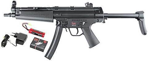 Heckler & Koch Uni MP5 A5 Ebb Airsoft Gewehr, Schwarz, One Size