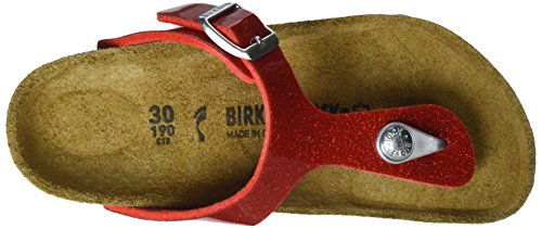 Birkenstock  Gizeh, tongs fille Rot (Magic Galaxy Red)
