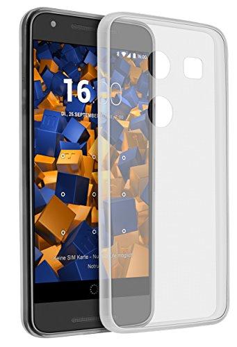 mumbi UltraSlim Hülle für LG Nexus 5X Schutzhülle transparent (Ultra Slim - 0.55 mm)