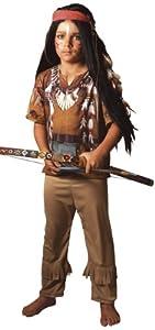 César - Disfraz de guerrero indio para niño (de 4/5 años)