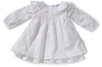 Stummer Baby - Mädchen Taufbekleidung 15096, Gr. 80, Weiß (001 white)