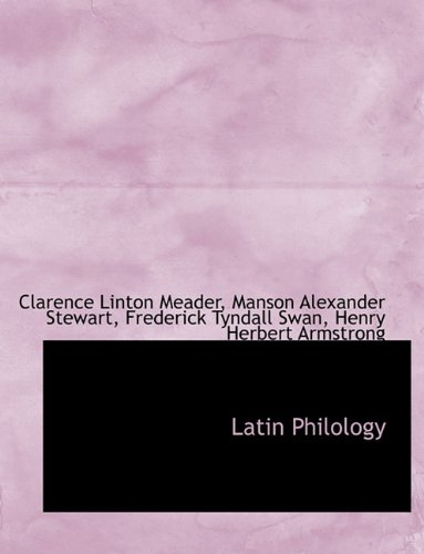 Latin Philology