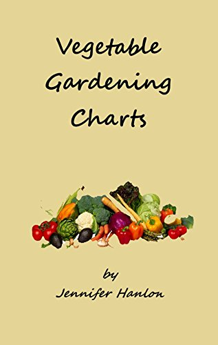 Vegetable Gardening Charts (English Edition) por Jennifer Hanlon