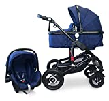 Cynebaby California Kombi-Kinderwagen 3in1 mit Babyschale