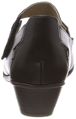 Nero D7338 Da Indietro Scarpe Granito nero Donna ZIq7Zxd