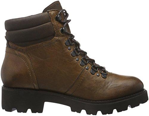 SPM Damen Atlas Ankle Boot Biker Braun (Dk Cuoio 008/Dk Brown 008)