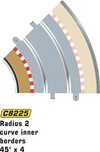Super Slot 500008225 - FAHRB.BEGRAD INTERIOR 45GRAD 8206, Rennbahnhzubehör Importado de Alemania