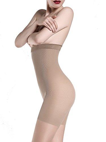 GIULIA Figurformende Strumpfhose mit Korrekturhöschen 'Talia Control 40', 40 DEN, Farbe: Daino, Größe: 5 (XL) (Strumpfhose Hohe)