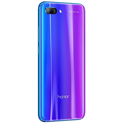 Honor 10 Dual Sim, 128 Gb Storage, 24 Mp Dual Camera & 5.84 Inch Full View Display, Uk Official Device - Phantom Blue