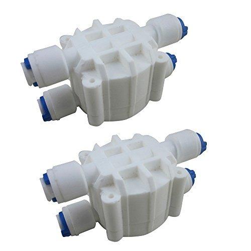 digiten 1/10,2cm Automatische Absperrventil mit-für RO Umkehrosmose (2Stück) -