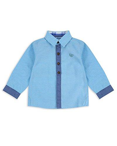The Essential One - Bebé Infantil Niños Camisa Manga Larga - Azul - 9-12m - EOT470