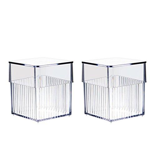 Kali Box mit Deckel Set 2tlg, transparent