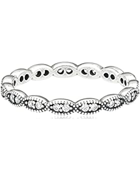 Pandora Damen-Ring 925 Silber Zirkonia weiß 190923CZ