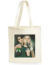 amy Winehouse Kurt Cobain, Bolsa de Compras para ir de Compras, Picnic, Almacenamiento en el Hogar y Escuela, tote bag