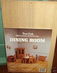 Dura-Craft Miniture Furniture - Dining Room
