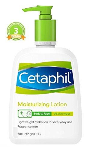 Cetaphil Moisturizing Lotion Body & Face 20 FL OZ 591ML All Skin Type