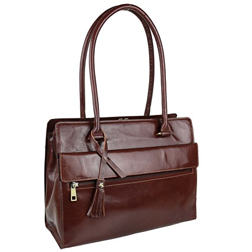 Visconti , Sac à main pour femme Marron Tan/Brown