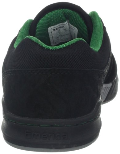 Emerica The Heritic, Chaussures de sport homme Noir (Black/Green/Gold 539)