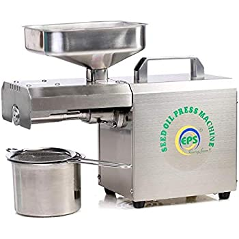 EPS 602 Automatic Oil Extractor Machine 600W (Multi Oil Seeds Input Capacity 4 to 8 kg/h with Advanced Food Grade Stainless Steel Technology)