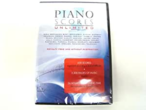 Piano Scores Unlimited (PC DVD)